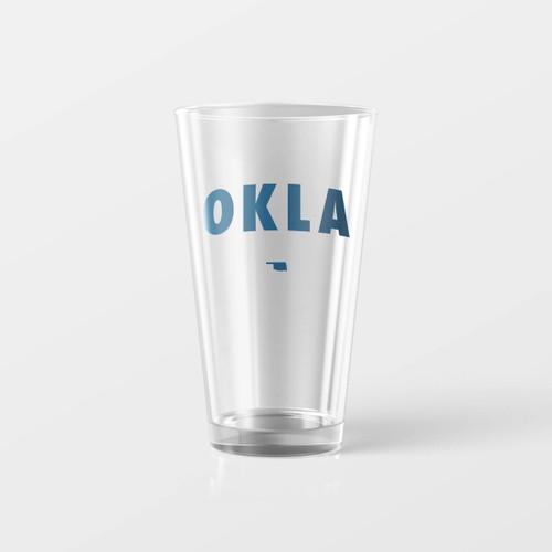 OKLA Pint Glass