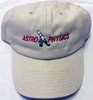 Astro-Physics Embroidered Cap, Stone  (APCAPES)
