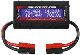 Powerwerx DC Inline Watt Meter and Power Analyzer