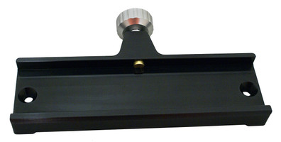 "7"" V-Style Light-weight Dovetail Accessory Saddle, perfect for Stowaway and mounting rings with center holes  (ACSD07)"