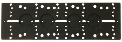 """16"""" Versatile Dovetail Plate for D-Style Dovetail Saddle Plates  (SBD16)"""
