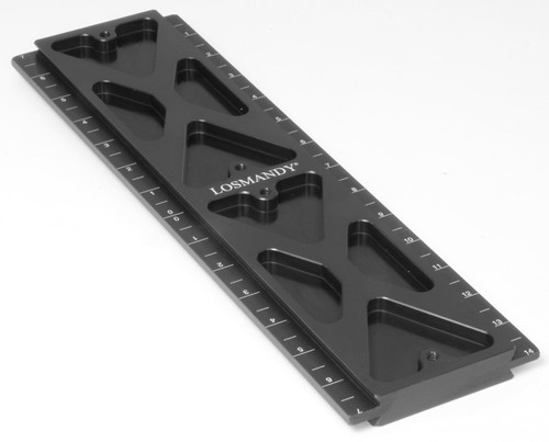 """13.5"""" Losmandy D Series male to male dovetail plate  (LMDMM14)"""