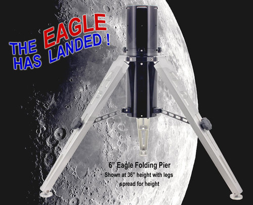 "6"" Eagle Adjustable Folding Pier  (EAGLE6-EZ)"