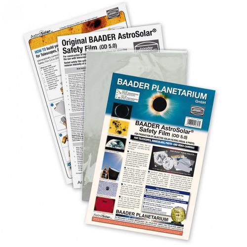 """Baader AstroSolar 5.0 Safety Film 200 x 290mm (7.9""""x11.4"""")  (AS50A4)"""