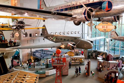航空宇宙博物館(新館)