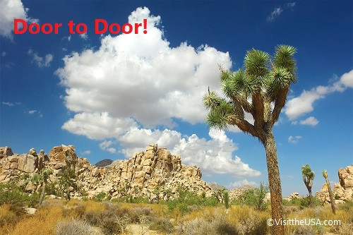 Door to Door! ジョシュアツリー国立公園とパイオニアタウン1日観光