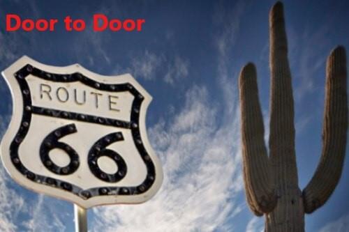 *Door to Door! ルート66とアウトレット1日観光