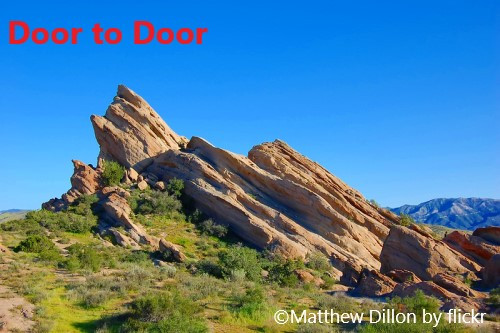 Door to Door ! ヴァスケス ロックス ・カウンティ パーク1日観光
