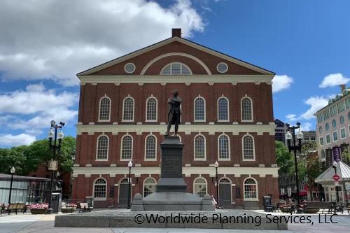 ボストン半日観光