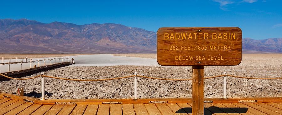 Death Valley Bad Water