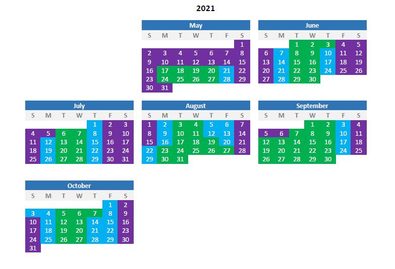 Park Calendar