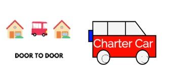 Door to Door Charter Logo