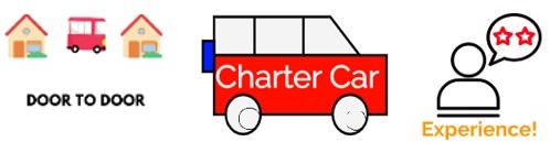 Door to Door Charter Experience Logo
