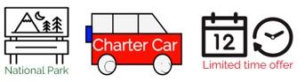 National Park Charter Limited Time Logo