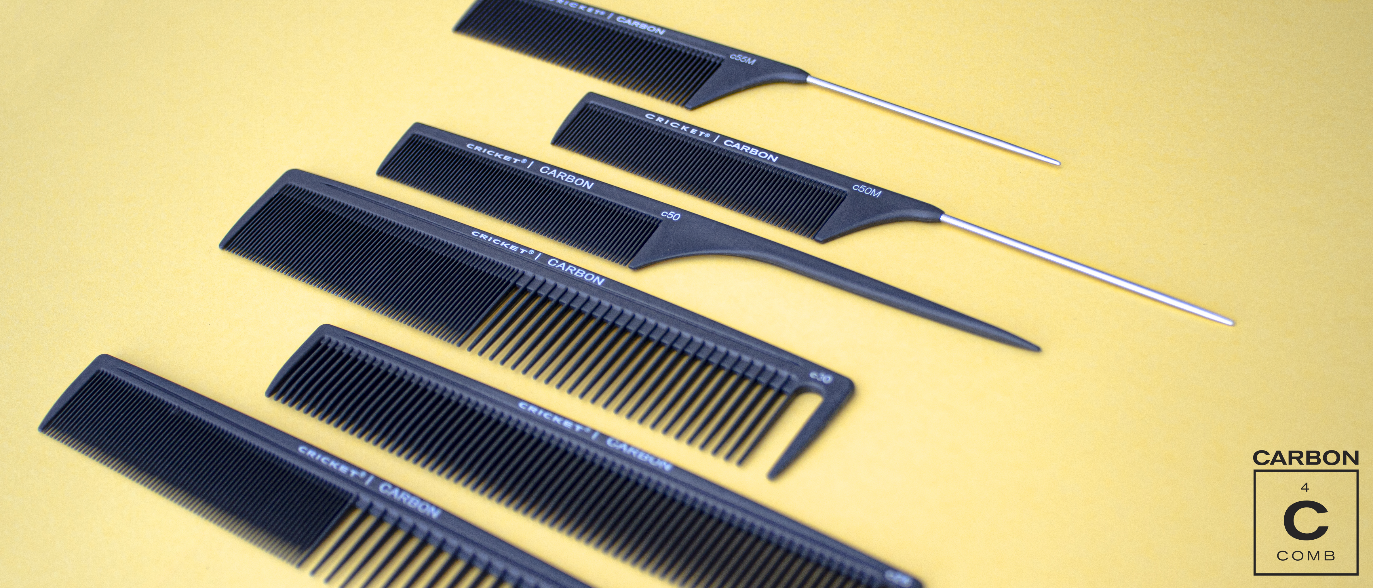 Cricket Carbon Combs Collection Strong and Can Handle High Heat