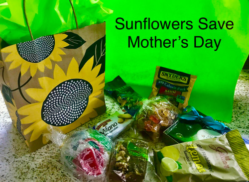 Sunflowers Save Mother's Day Goodie Bag