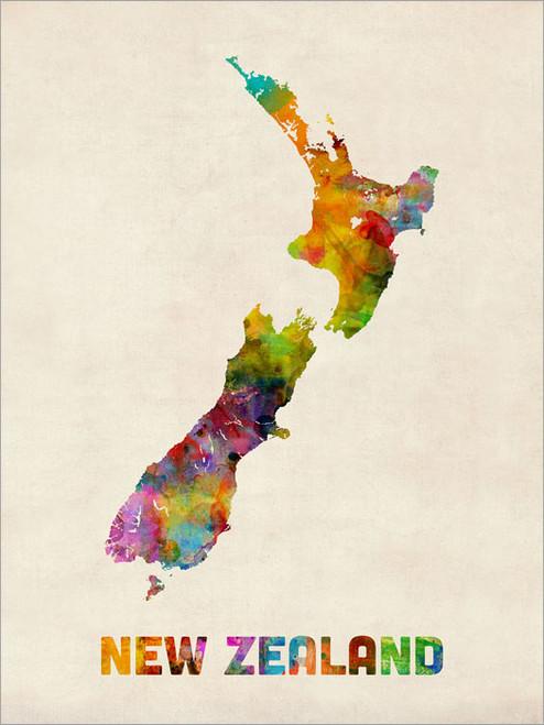 New Zealand Poster Art Print