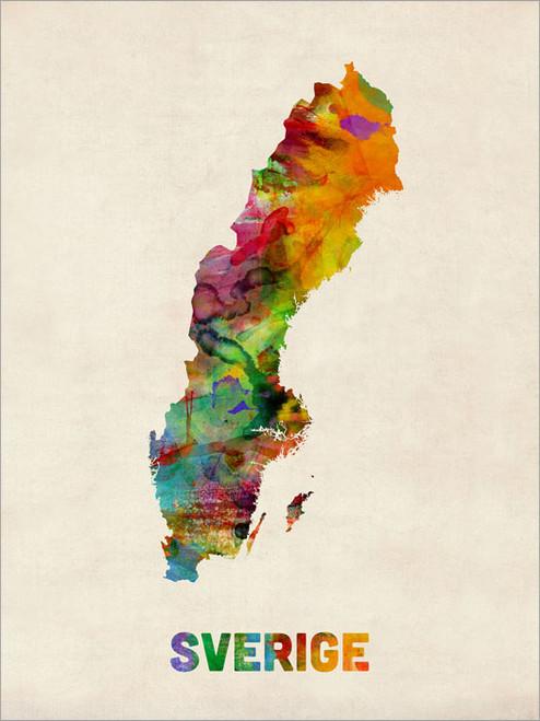 Sweden Poster Art Print