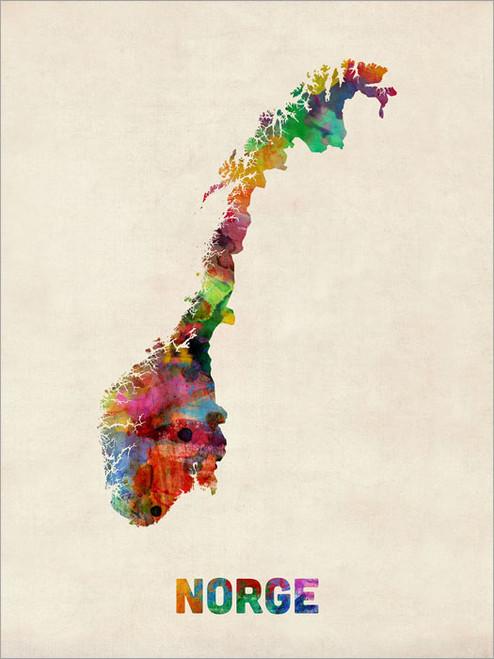 Norway Poster Art Print