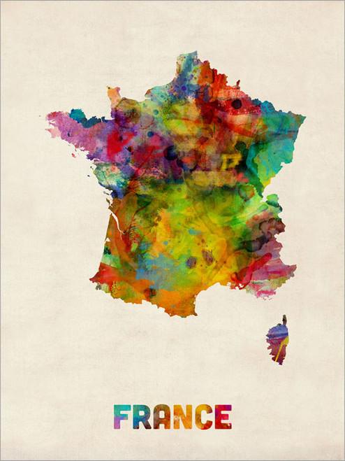 France Poster Art Print