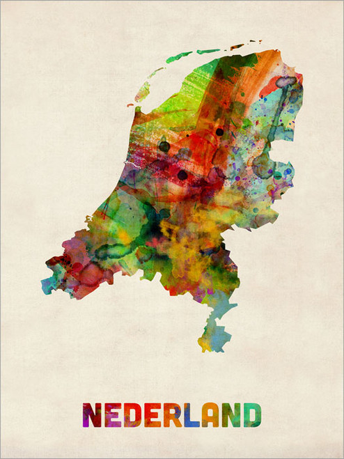 Netherlands Poster Art Print