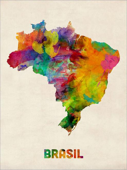 Brazil Poster Art Print