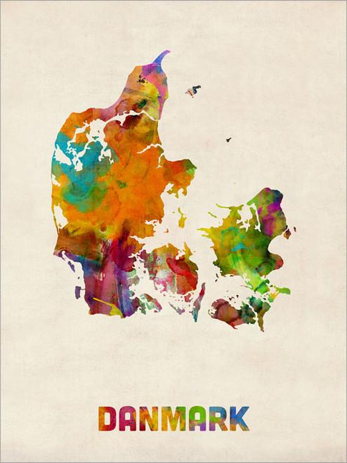 Denmark Poster Art Print