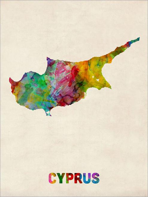 Cyprus Poster Art Print