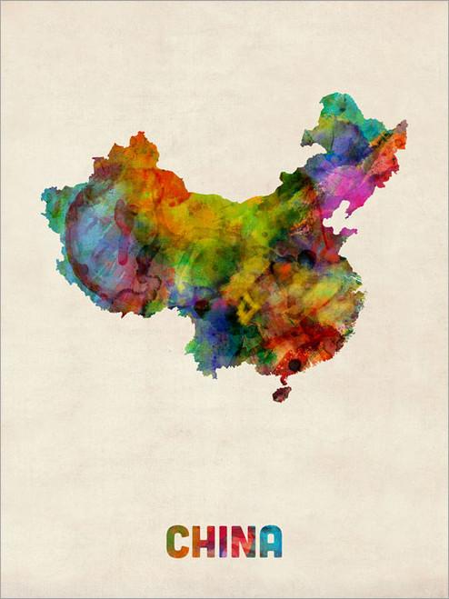 China Poster Art Print