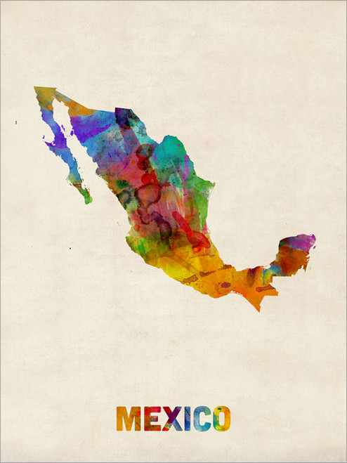 Mexico Poster Art Print