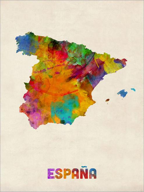 Spain Poster Art Print