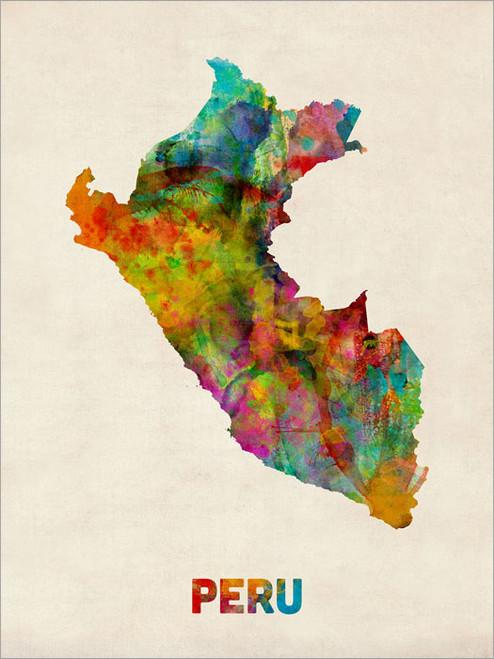 Peru Poster Art Print