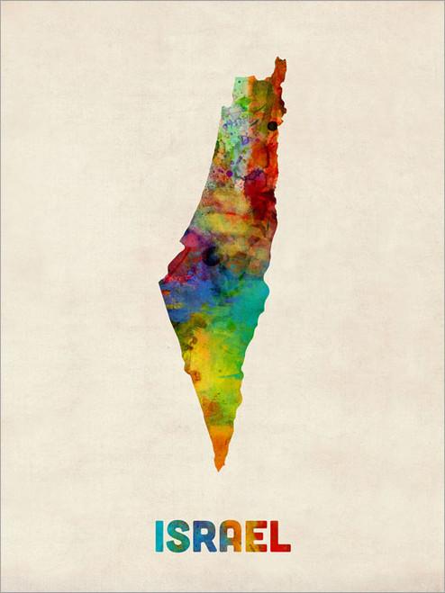 Israel Poster Art Print