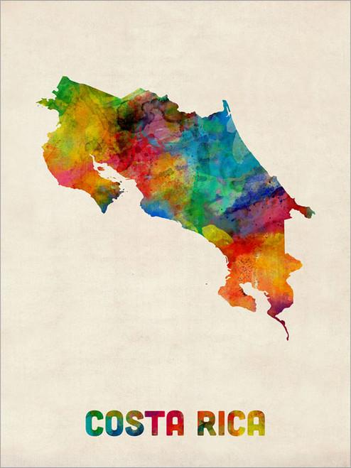 Costa Rica Poster Art Print