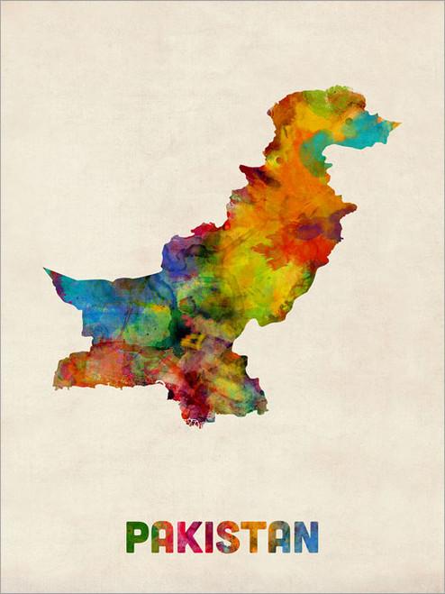 Pakistan Poster Art Print