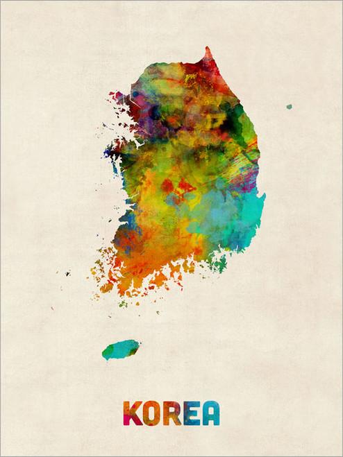 Korea Poster Art Print