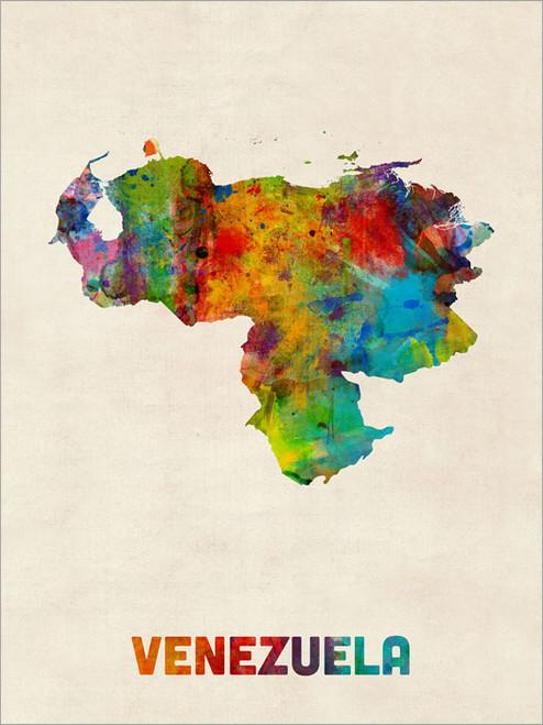 Venezuela Poster Art Print