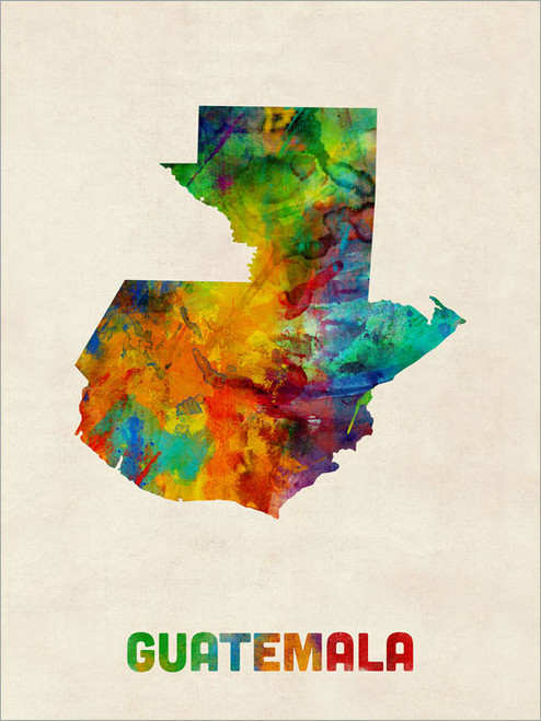 Guatemala Poster Art Print