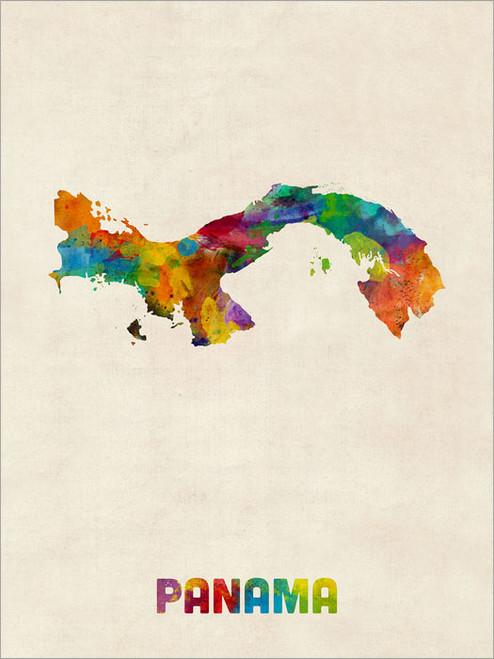 Panama Poster Art Print