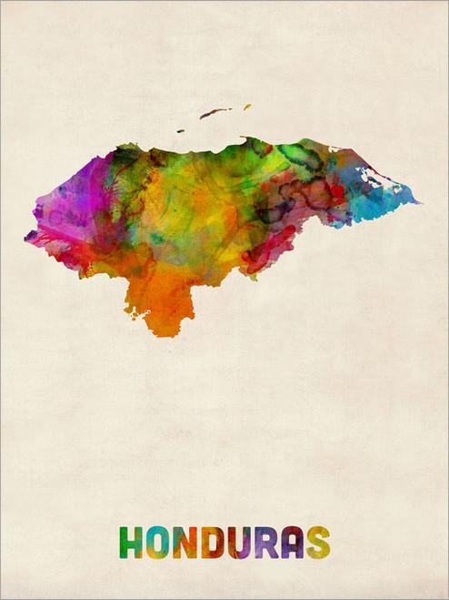Honduras Poster Art Print