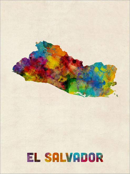 El Salvador Poster Art Print