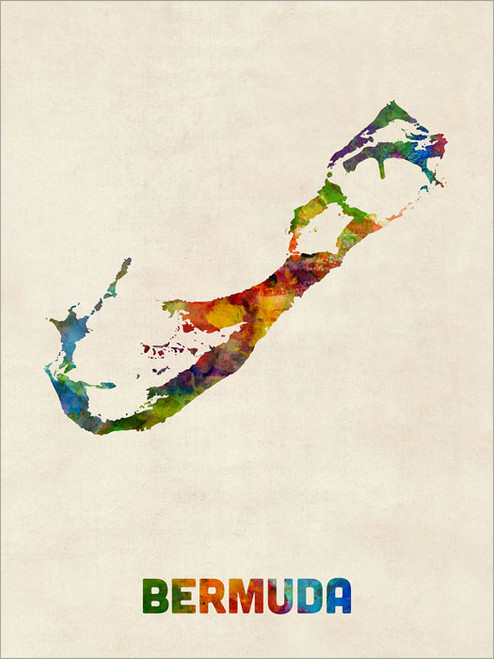 Bermuda Poster Art Print