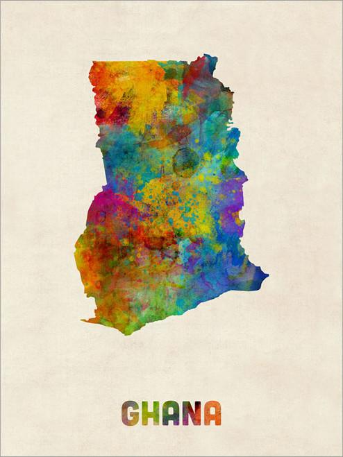 Ghana Poster Art Print