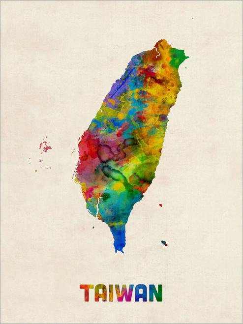 Taiwan Poster Art Print