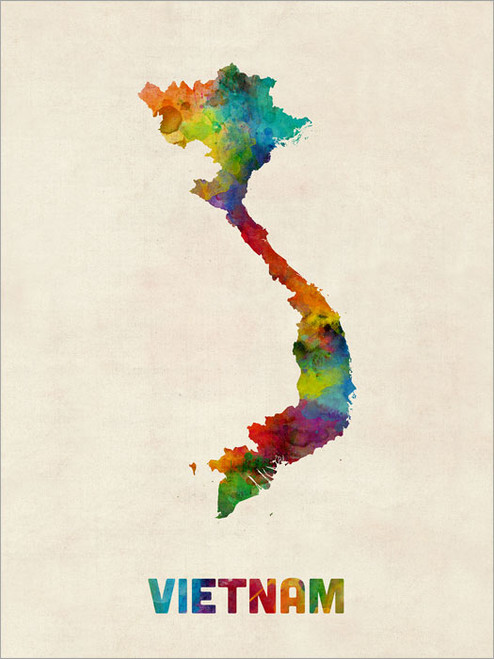 Vietnam Poster Art Print
