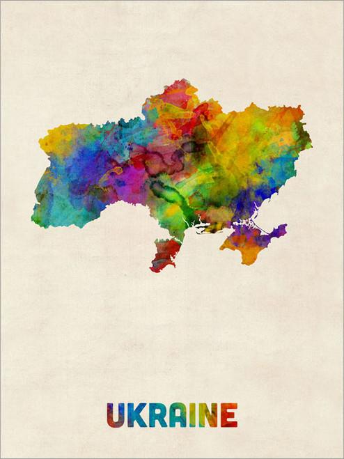 Ukraine Poster Art Print
