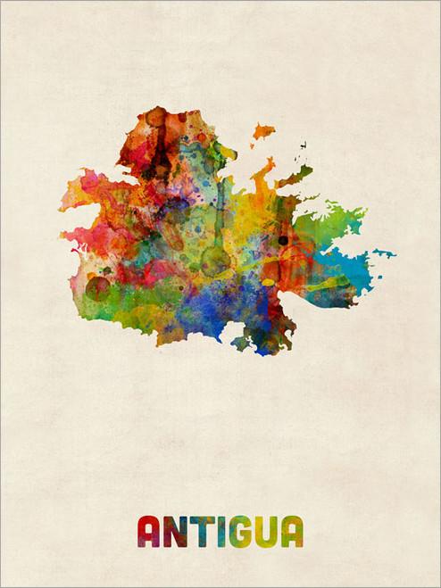 Antigua Poster Art Print