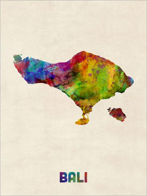 Bali Poster Art Print