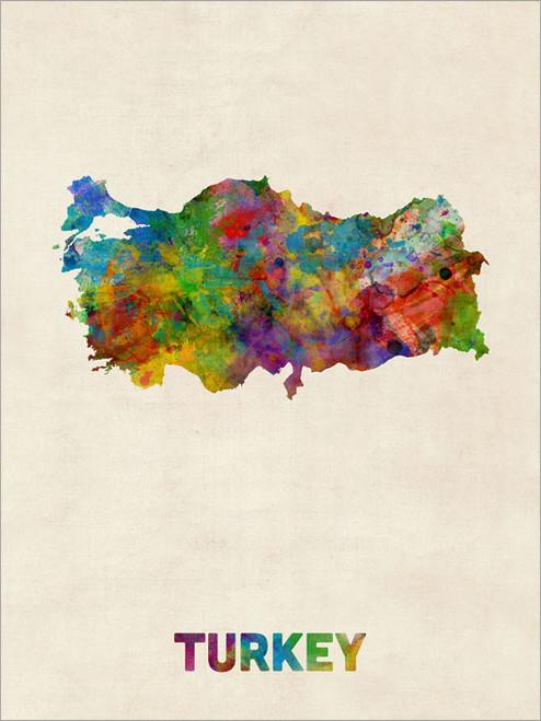 Turkey Poster Art Print
