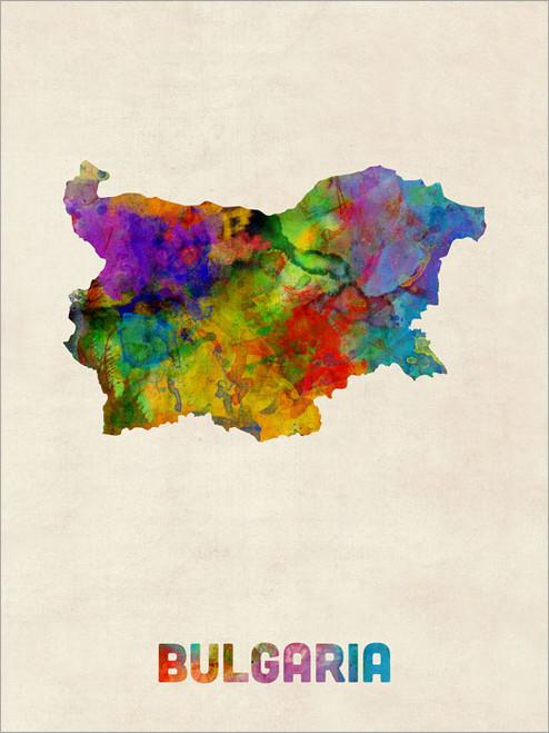 Bulgaria Poster Art Print